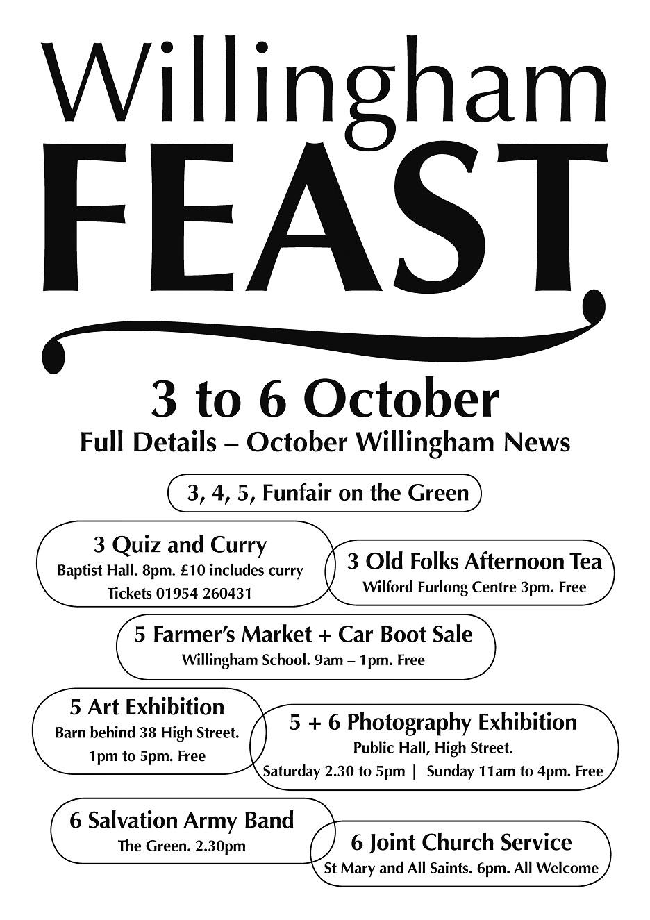 Willingham Feast 2013