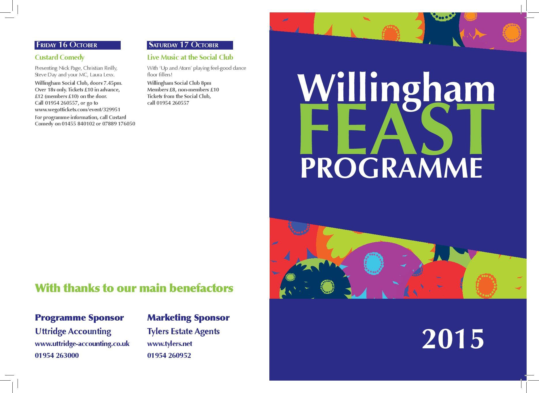 Willingham Feast 2015